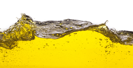 spews: An abstract image of spilled oil   On a white background