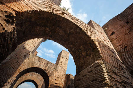 forums: The arches in the Roman Forums