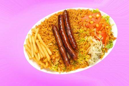 merguez plate photo