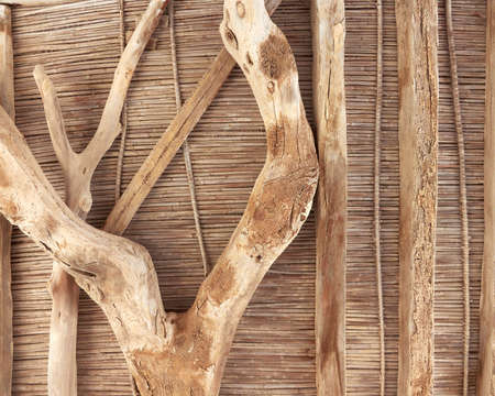 grunge wooden ceiling background Stock Photo - 10524256