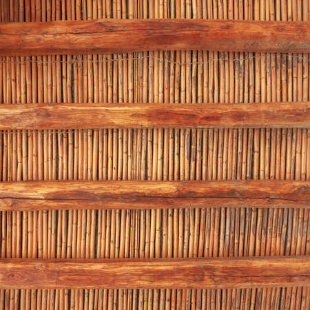 grunge wooden ceiling background photo