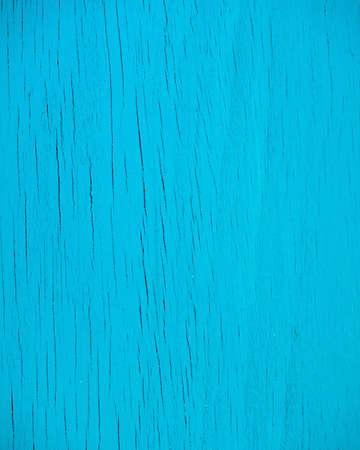 青い塗られた木製の背景を風化します。