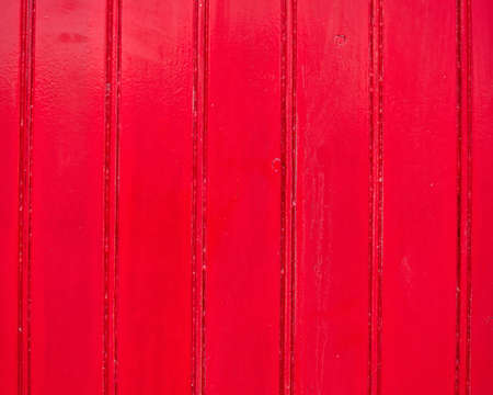 red painted wood background Stock Photo - 10524244
