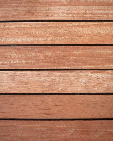 natürlichen Teakholz-Deck Hintergrund Standard-Bild