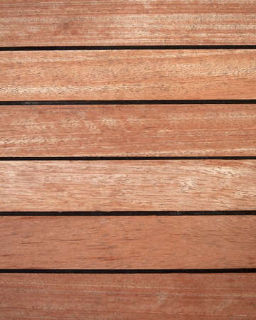 natuurlijke teak houten dek achtergrond Stockfoto