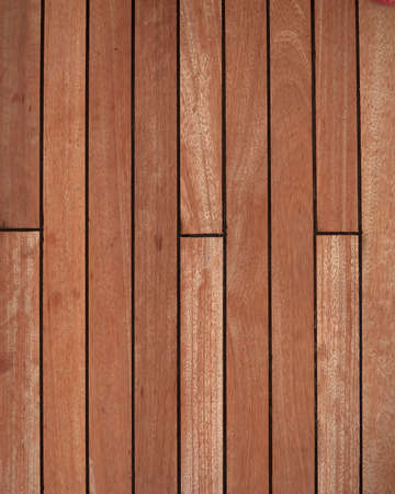 natural teak wood deck background photo