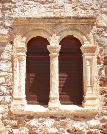 byzantine: Greek byzantine church window