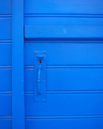 old blue door closeup, background photo