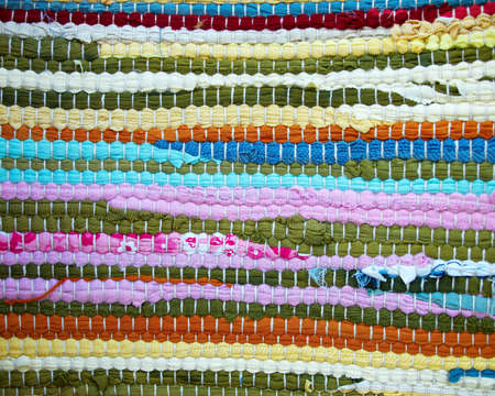 handmade carpet closeup, colorful background Stock Photo - 14210656