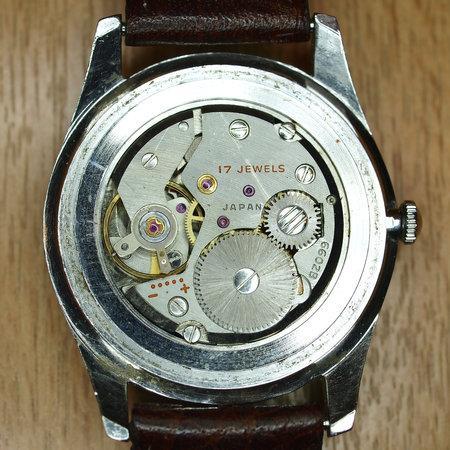 made in Japan watch mechanism closeup