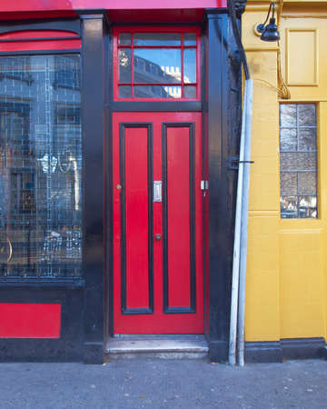 puerta colorido, Notting Hill, Londres photo