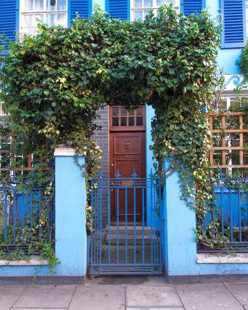 notting: entrada colorido, Notting Hill, Londres