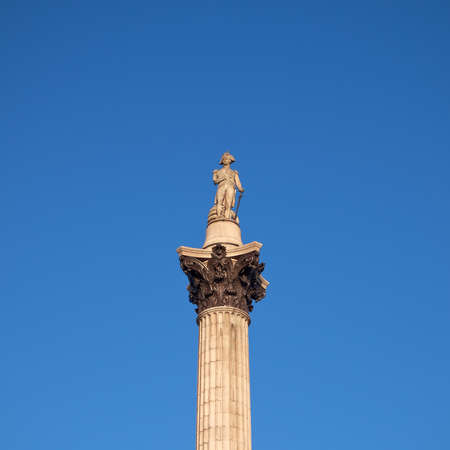Nelson s column in Trafalgar square, London photo
