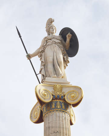 Athena, godess of wisdom and philosophy photo