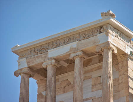 Temple of Athena nike, Acropolis of Athens, Greece photo