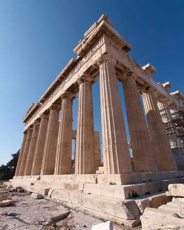 Parthenon ancient temple, Athens Greece photo