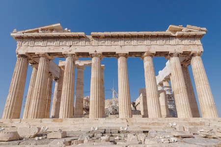 パルテノン神殿古代寺院、ギリシャ、アテネ