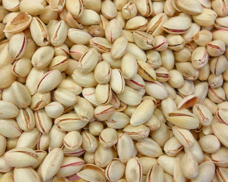 earth nut: pistachios nuts closeup, tasty background