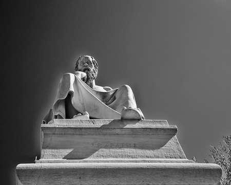 Socrates, the ancient Greek philosopher Stock Photo - 25063820