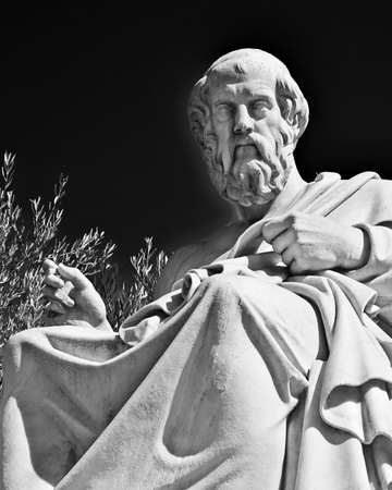 Plato, the ancient Greek philosopher Stock Photo - 25063825