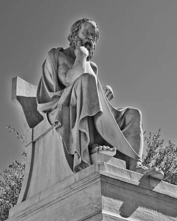 Socrates, the ancient Greek philosopher Stock Photo - 25063902