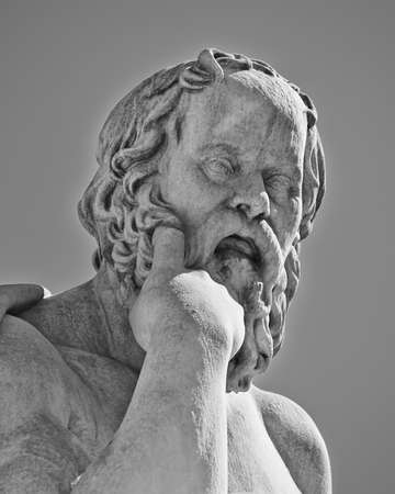 Socrates, de oude Griekse filosoof