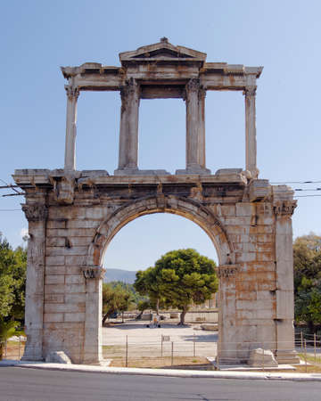 hadrian: Hadrians gate, Athens Greece