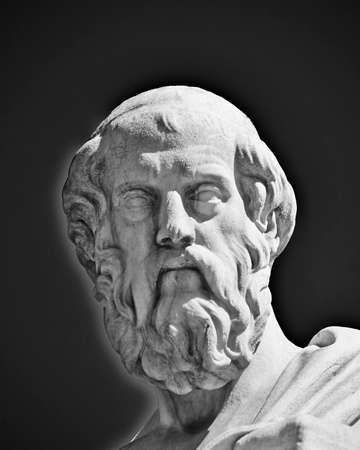 Plato, the ancient Greek philosopher photo