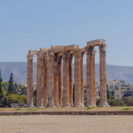 olympian: ancient Greek temple of Olympian Zeus, Athens