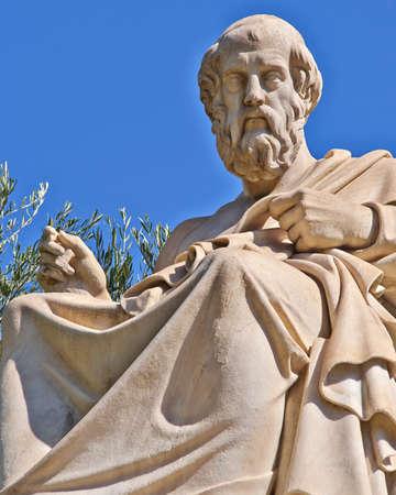 Plato the philosopher statue, Athens Greece