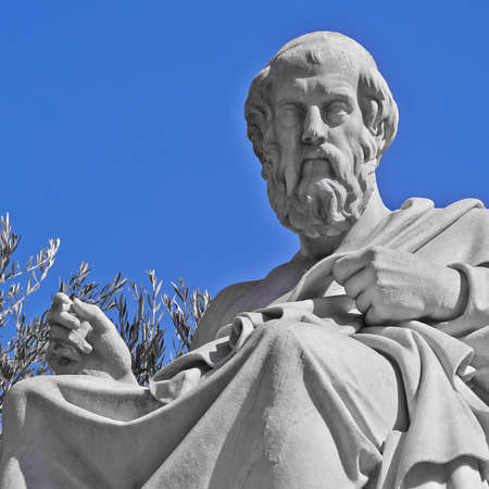 a biography of plato the greek philosopher