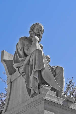ソクラテス古代ギリシアの哲学者 写真素材