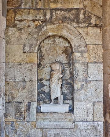 hadrian: Emperador romano Adriano estatua
