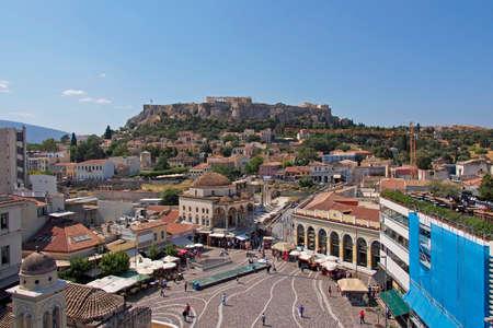 Monastiraki famous square, Athens Greece