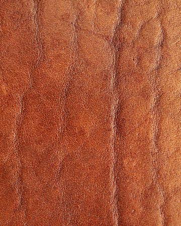 corrugation: genuine  leather, natural background