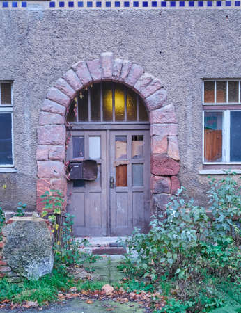 paveway: old door in Altenburg, Thuringen, Germany