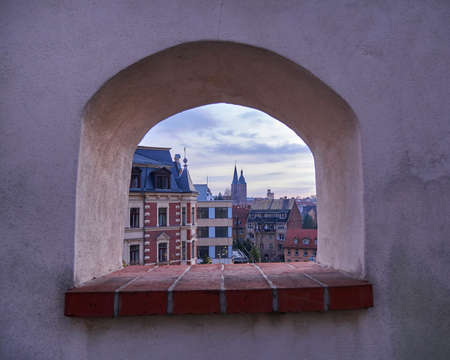 rote: Altenburg, Germany, view from the castle