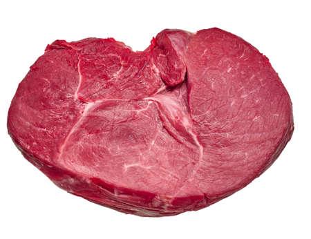 新鮮な生肉のクローズ アップ