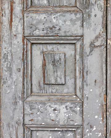 closure: gray wooden closure close up, grunge background