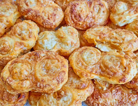 puff: delicious french cheese palmier snacks