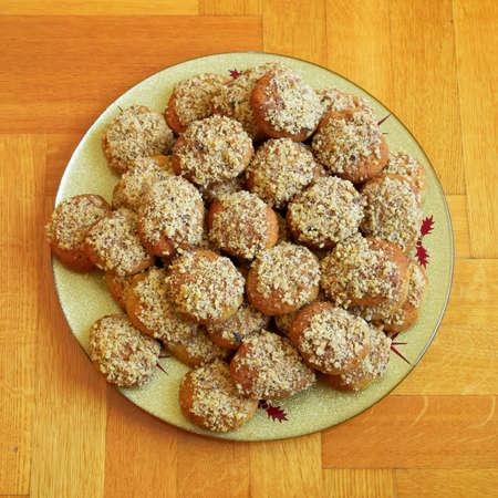 melomakarona traditional greek christmas cookies stock photo 74894976