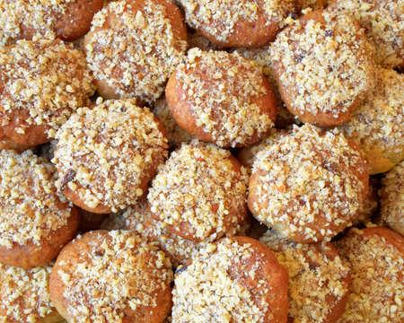 melomakarona traditional greek christmas cookies stock photo 75171853 - Greek Christmas Traditions