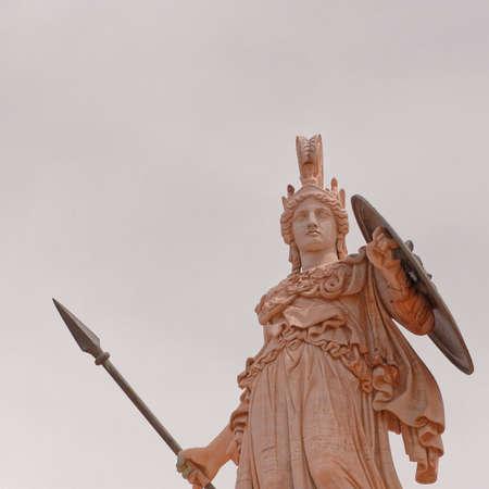 Athena the ancient greek goddess of knowledge and wisdom Zdjęcie Seryjne
