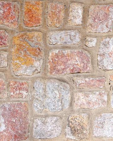 colorful stone wall seamless pattern