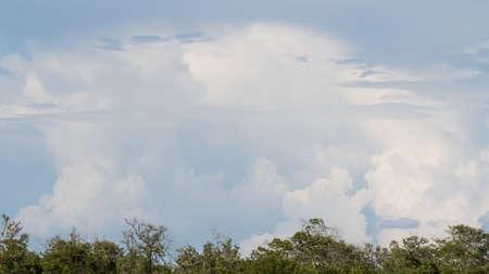 Clouds above J.N. Ding Darling National Wildlife Refuge, Sanibel Island, Florida