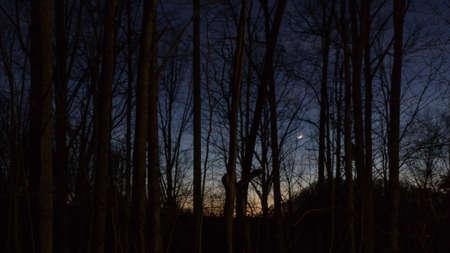 Sunset, Balsam Mountain, North Carolina