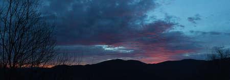 smokies: Sunrise, Blue Ridge Parkway, Great Smoky Mountains