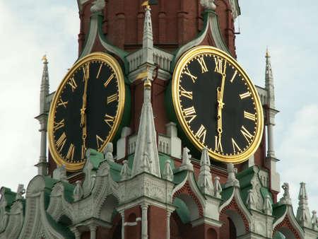Kremlin-Chiming Clock Stock Photo - 5557660