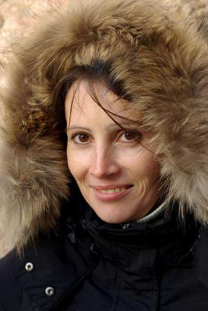 Winter portrait Stock Photo - 5835619
