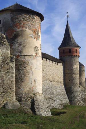 guerrilla: The medieval fortress of Kamianets in Podillia, Ukraine